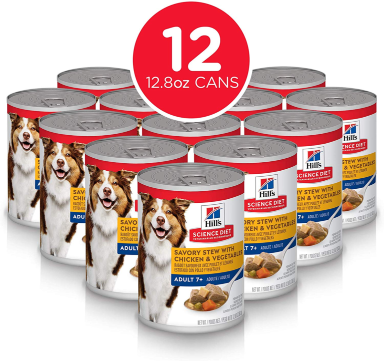 Hill's Science Diet Canned Dog Food, Adult 7+ for Senior Dogs