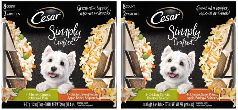 Cesar Simply Crafted Dog Food